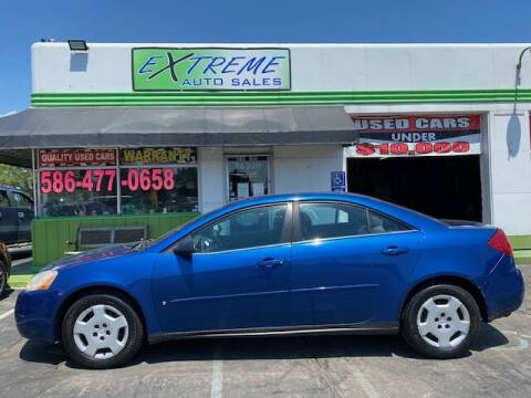 2007 Pontiac G6 for sale at Extreme Auto Sales in Clinton Township MI