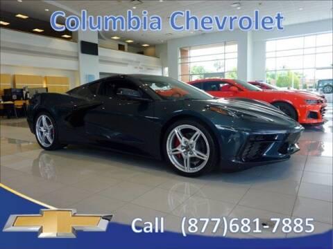 2021 Chevrolet Corvette for sale at COLUMBIA CHEVROLET in Cincinnati OH