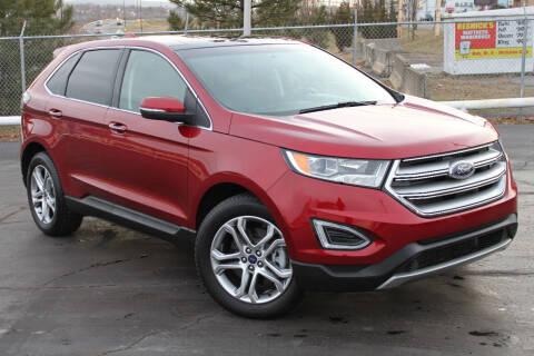 2015 Ford Edge for sale at Dan Paroby Auto Sales in Scranton PA