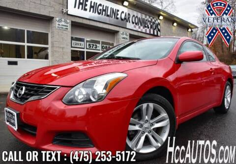 2011 Nissan Altima for sale at The Highline Car Connection in Waterbury CT