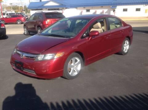 2006 Honda Civic for sale at Sindic Motors in Waukesha WI