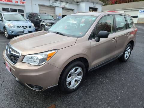 2015 Subaru Forester for sale at Driven Motors in Staunton VA