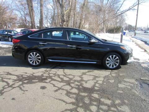 2015 Hyundai Sonata for sale at Nutmeg Auto Wholesalers Inc in East Hartford CT