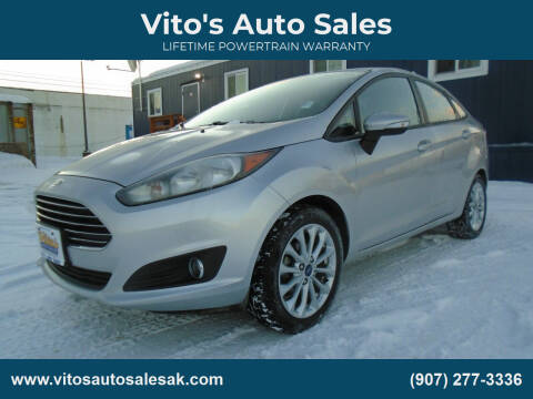 2014 Ford Fiesta for sale at Vito's Auto Sales in Anchorage AK
