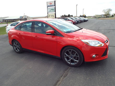 2014 Ford Focus for sale at G & K Supreme in Canton SD
