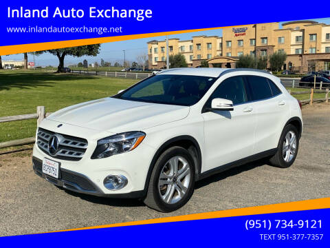 2018 Mercedes-Benz GLA for sale at Inland Auto Exchange in Norco CA