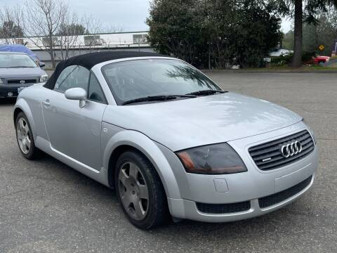 2001 Audi TT for sale at Deruelle's Auto Sales in Shingle Springs CA