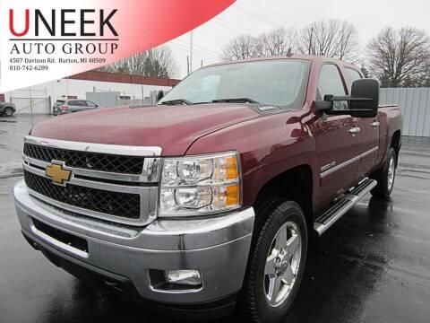 2013 Chevrolet Silverado 2500HD for sale at Uneek Auto Group LLC in Burton MI