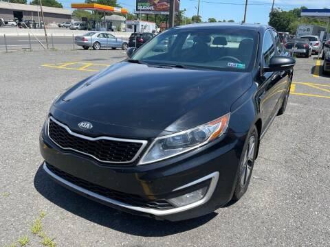2012 Kia Optima Hybrid for sale at MFT Auction in Lodi NJ