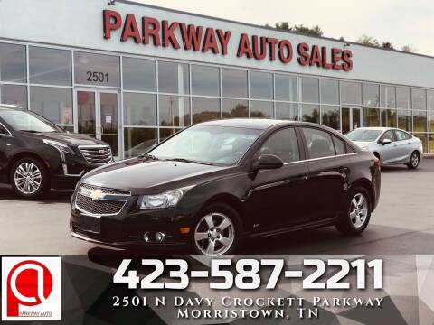 2013 Chevrolet Cruze for sale at Parkway Auto Sales, Inc. in Morristown TN