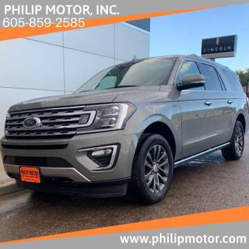 2019 Ford Expedition MAX for sale at Philip Motor Inc in Philip SD