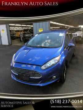 2015 Ford Fiesta for sale at Franklyn Auto Sales in Cohoes NY