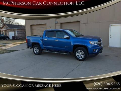 2018 Chevrolet Colorado for sale at McPherson Car Connection LLC in Mcpherson KS
