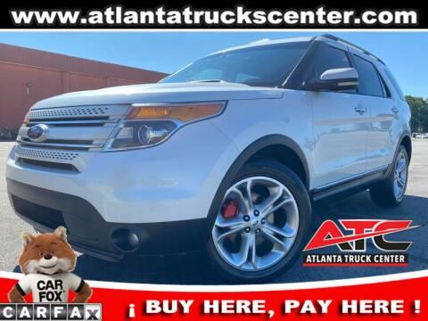 2013 Ford Explorer for sale at ATLANTA TRUCK CENTER LLC in Brookhaven GA