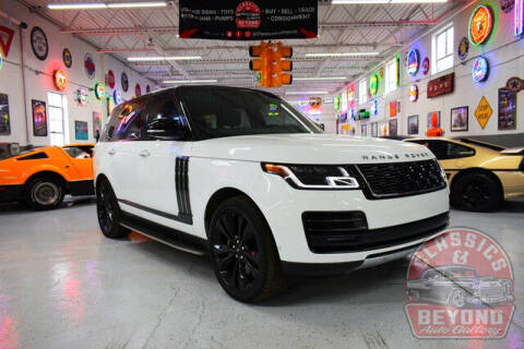 2018 Land Rover Range Rover for sale at Classics and Beyond Auto Gallery in Wayne MI