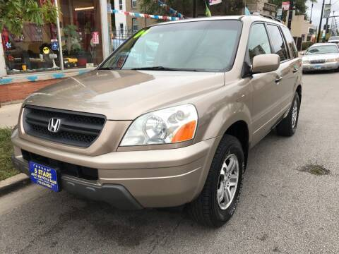 2004 Honda Pilot for sale at 5 Stars Auto Service and Sales in Chicago IL