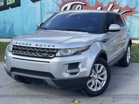 2014 Land Rover Range Rover Evoque for sale at Palermo Motors in Hollywood FL