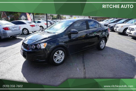 2013 Chevrolet Sonic for sale at Ritchie Auto in Appleton WI