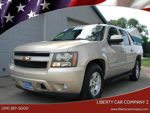 2007 Chevrolet Avalanche for sale at Liberty Car Company - II in Waterloo IA