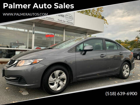 2013 Honda Civic for sale at Palmer Auto Sales in Menands NY