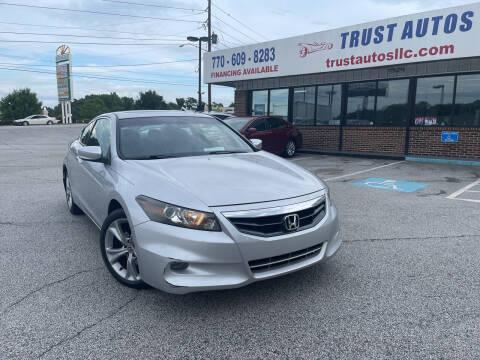 2011 Honda Accord for sale at Trust Autos, LLC in Decatur GA