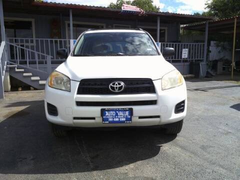 2009 Toyota RAV4 for sale at AUTO VALUE FINANCE INC in Stafford TX
