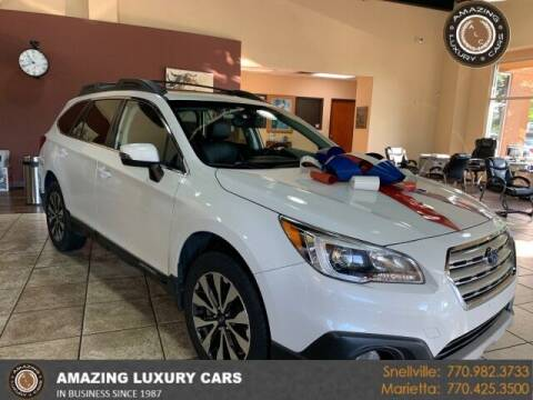 2017 Subaru Outback for sale at Amazing Luxury Cars in Snellville GA
