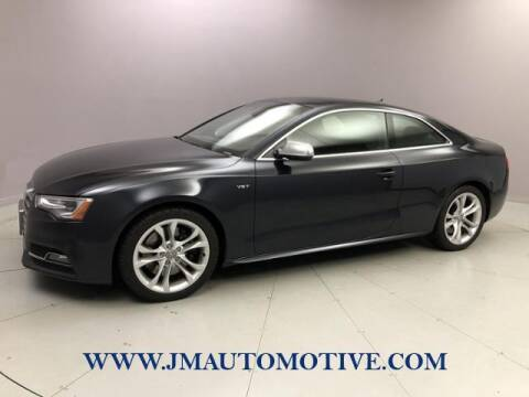 2013 Audi S5 for sale at J & M Automotive in Naugatuck CT