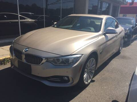 2014 BMW 4 Series for sale at MELILLO MOTORS INC in North Haven CT