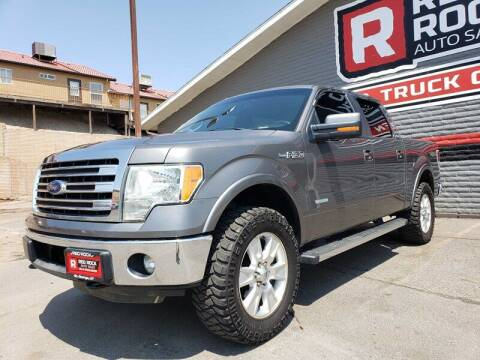 2013 Ford F-150 for sale at Red Rock Auto Sales in Saint George UT