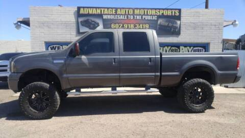 2003 Ford F-250 Super Duty for sale at Advantage Motorsports Plus in Phoenix AZ
