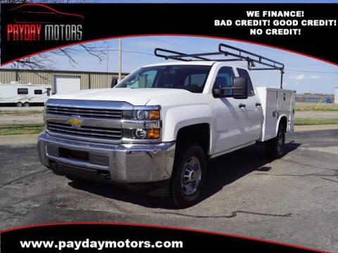 2015 Chevrolet Silverado 2500HD for sale at Payday Motors in Wichita And Topeka KS