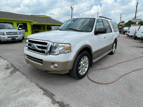 2011 Ford Expedition EL for sale at RODRIGUEZ MOTORS CO. in Houston TX