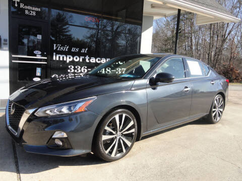 2020 Nissan Altima for sale at importacar in Madison NC