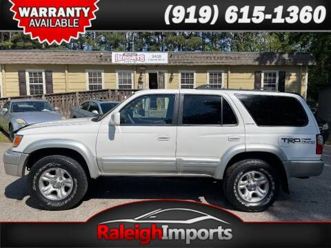 2001 Toyota 4Runner for sale at Raleigh Imports in Raleigh NC