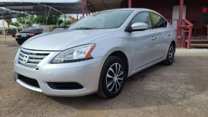 2015 Nissan Sentra for sale at Fast Trac Auto Sales in Phoenix AZ