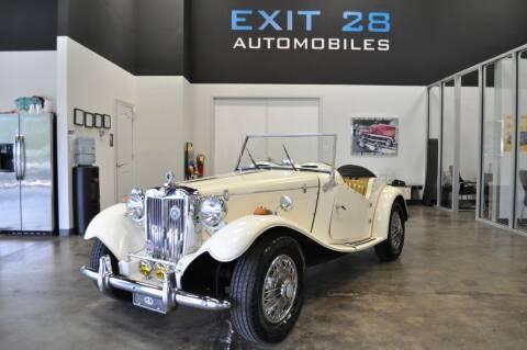 1982 CUSTOM MG for sale at Exit 28 Auto Center LLC in Cornelius NC