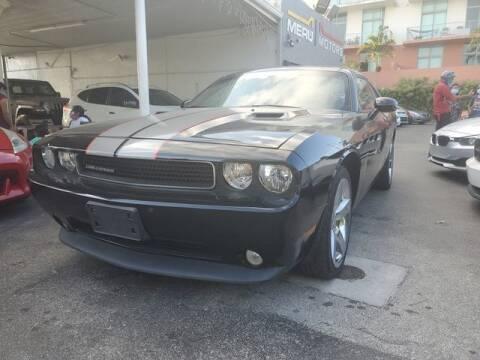 2011 Dodge Challenger for sale at Meru Motors in Hollywood FL