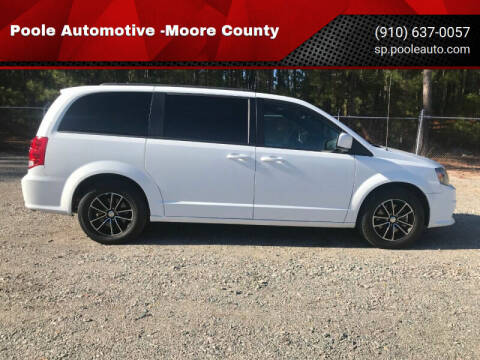 2018 Dodge Grand Caravan for sale at Poole Automotive in Laurinburg NC