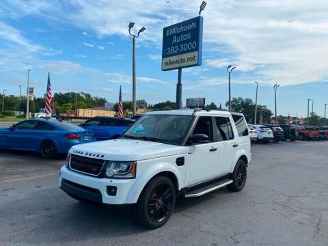 2016 Land Rover LR4 for sale at Michaels Autos in Orlando FL