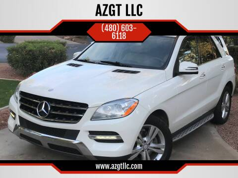 2013 Mercedes-Benz M-Class for sale at AZGT LLC in Phoenix AZ
