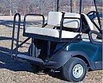 M&M Flip Rear Seat, BPC Precedent for sale at Jim's Golf Cars & Utility Vehicles - Accessories in Reedsville WI