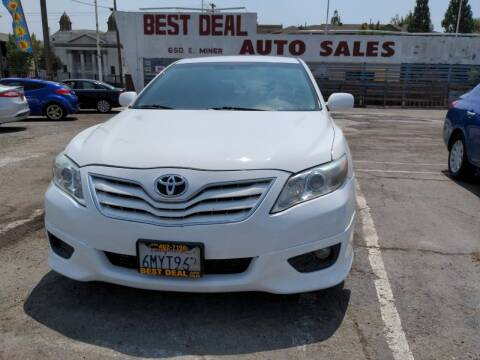 2009 Toyota Camry for sale at Best Deal Auto Sales in Stockton CA