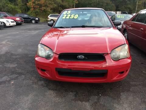 2005 Subaru Impreza for sale at 390 Auto Group in Cresco PA
