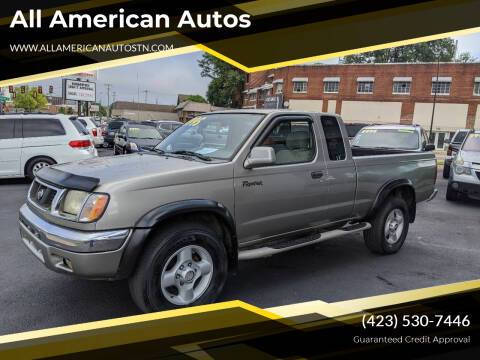 2000 Nissan Frontier for sale at All American Autos in Kingsport TN