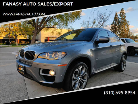 2014 BMW X6 for sale at FANASY AUTO SALES/EXPORT in Yorba Linda CA