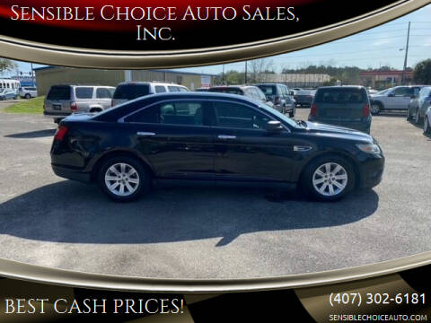 2012 Ford Taurus for sale at Sensible Choice Auto Sales, Inc. in Longwood FL
