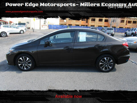 2014 Honda Civic for sale at Power Edge Motorsports- Millers Economy Auto in Redmond OR