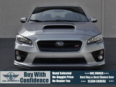 2017 Subaru WRX for sale at ASAL AUTOSPORTS in Corona CA