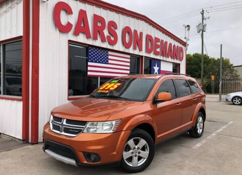 2011 Dodge Journey for sale at Cars On Demand in Pasadena TX